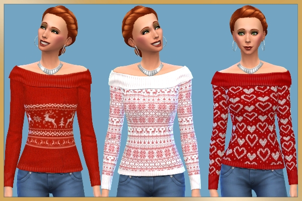 Blackys Sims 4 Zoo: Sweater by Schnattchen