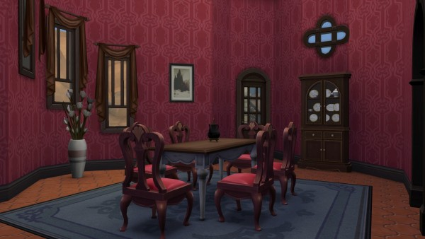 Mod The Sims Vampire Castle Summer Residence By Aya20