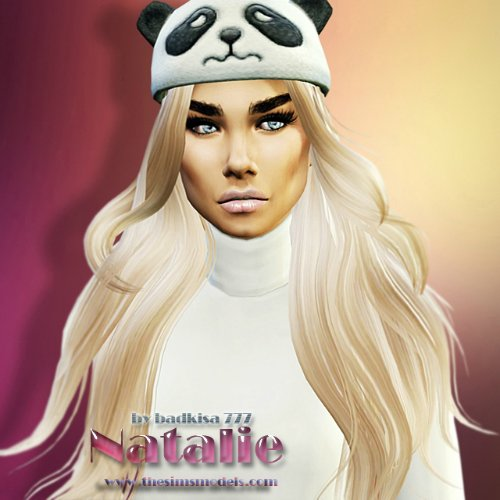 The Sims Models: Natalie by badkisa777