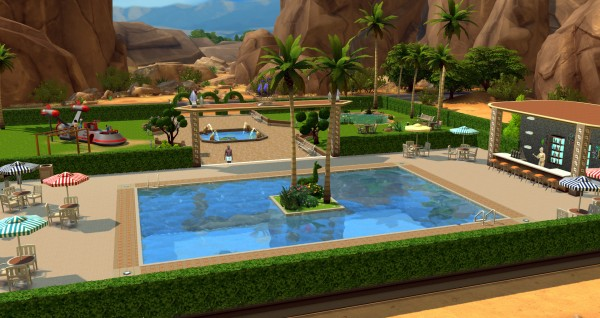 Ihelen Sims: Oasis park by ihelen
