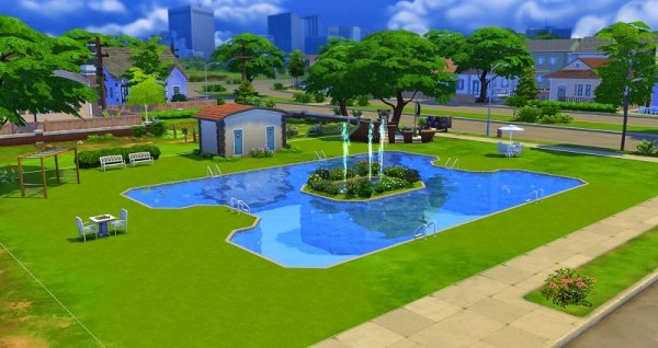 19 sims 4 blog leisure pool willow creek sims 4 downloads for Pool design sims 3