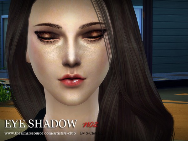 The Sims Resource: Eyeshadow 02 by S Club