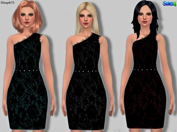 Sims 3 Addictions: Precious Lace Dress