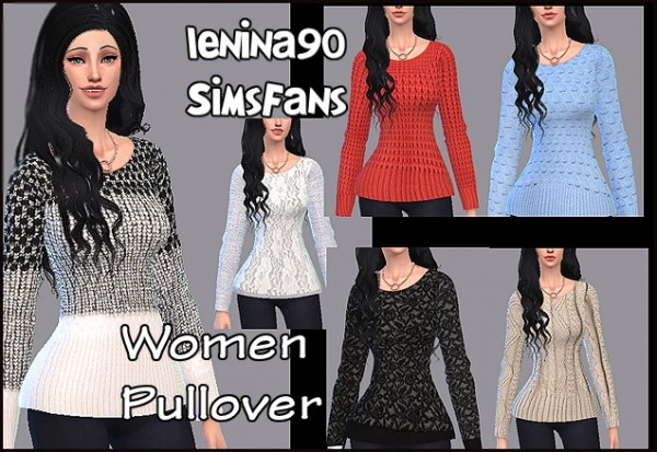 Sims Fans: Woman pullover by lenina90