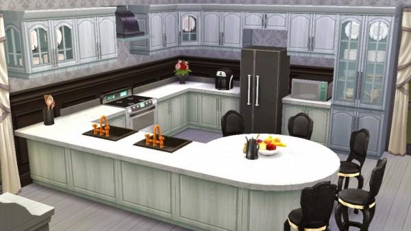 Sanjana Sims: Black&White Kitchen