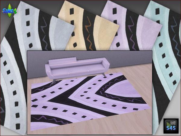 Arte Della Vita: 4 rug sets in 4 different colors