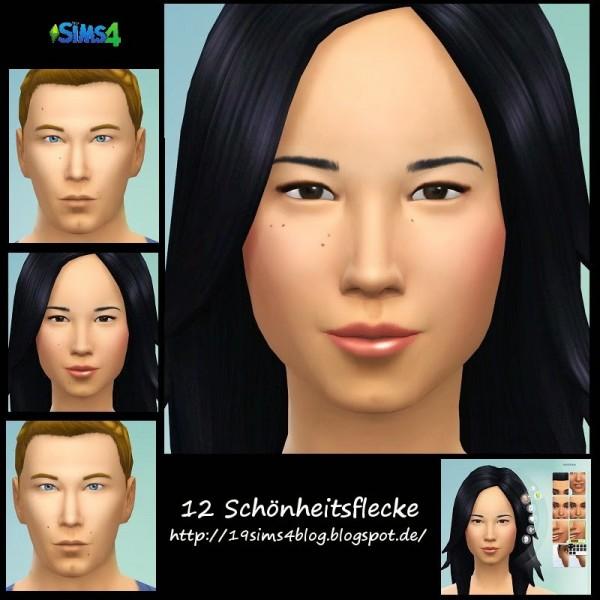 19 Sims 4 Blog: Beauty spots
