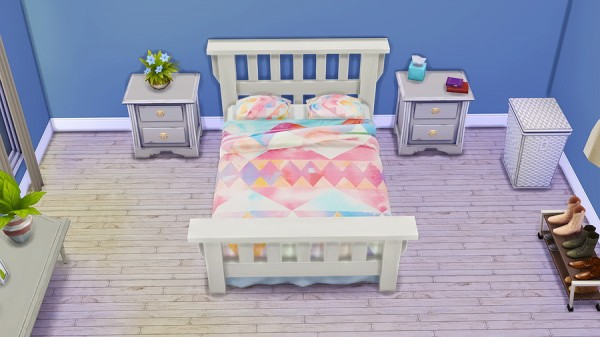 Seventhecho: Mission Bed   Urban Outfitters Recolors