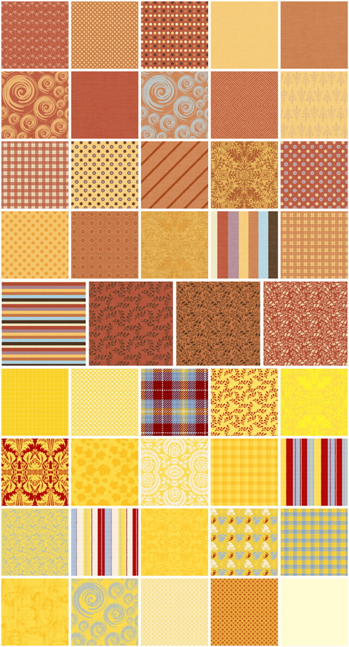 Jenni Sims: Patterns Collection  600X600 images