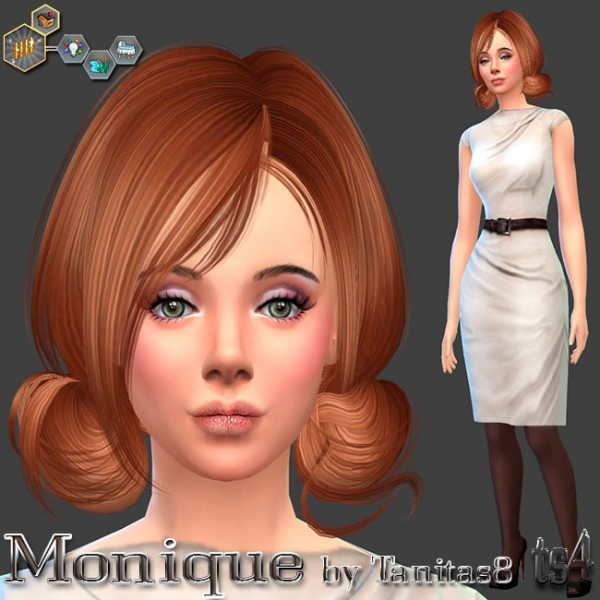 Sims Creativ: Monique by Tanitas8