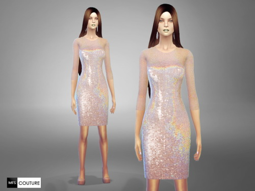 MissFortune Sims: Secret Santa dresses