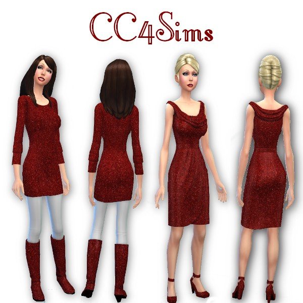 CC4Sims: Casual dress