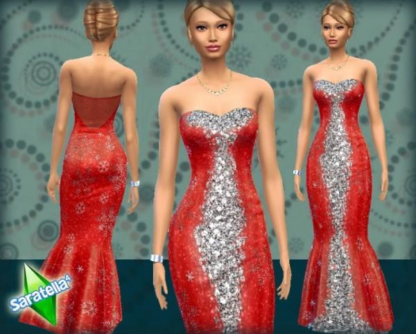 Saratella`s Place: Christmas dress