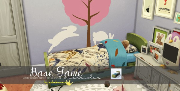 In a bad romance: Anti Goblin Bed by Kindermade