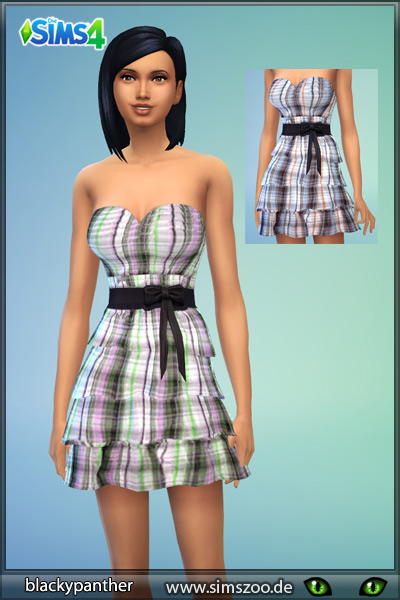 Blackys Sims 4 Zoo: Dress recolor by blackypanther