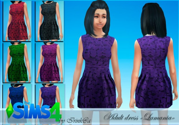 Irinka: Lamania dress
