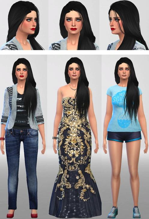 Sim Agency: Laila female sims model