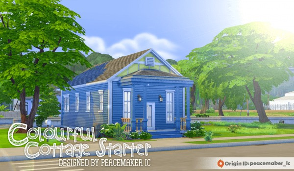 Simsational designs: Colourful Cottage Starter