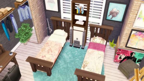 Simkea: Double Mission Single Bed