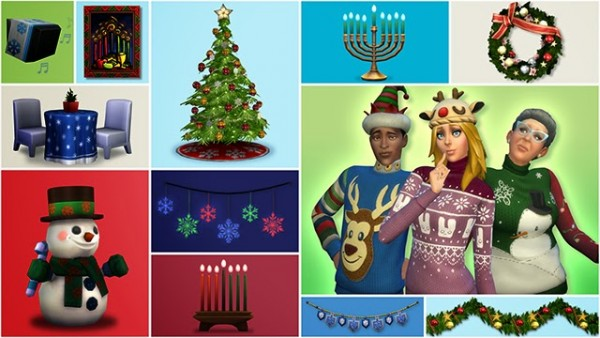 Annett`s Sims 4 Welt: Holiday Sweaters & Christmas Deco