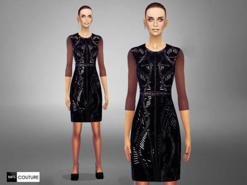 MissFortune Sims: Reflection Dress