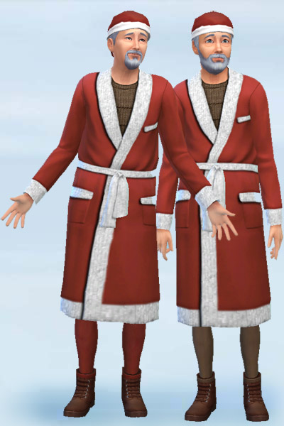 Blackys Sims 4 Zoo: Santa Outfit by Mammut