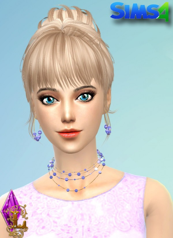 Ladesire Creative Corner: Pearl Set earrings and necklace
