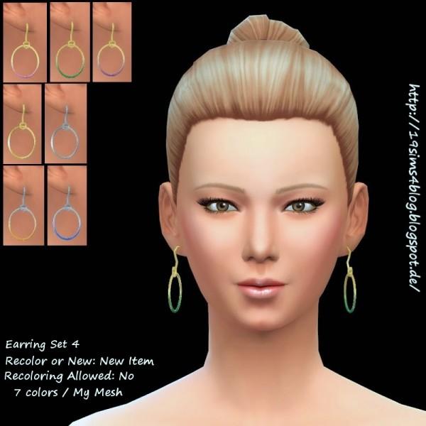 19 Sims 4 Blog: Earring Set 4