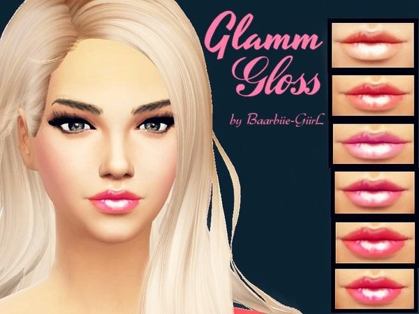 The Sims Resource: Glamm Gloss by Baarbiie GiirL