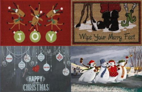 Darkiie Sims 4: Christmas rugs