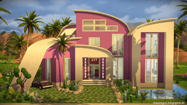 Frau Engel: Modern Mansion