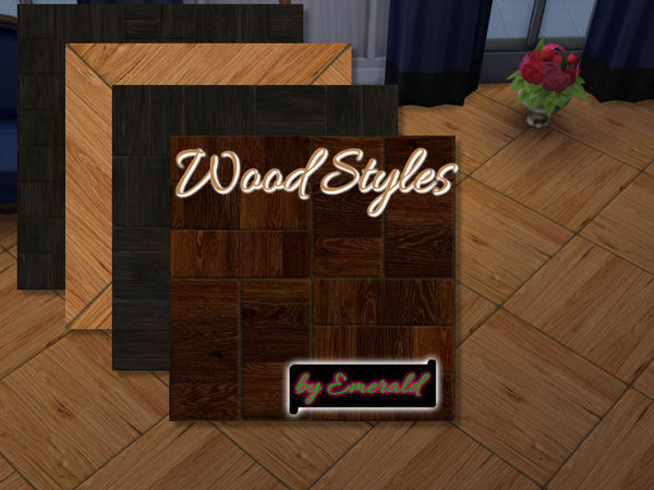 The Sims Resource: Wood styles by emerald