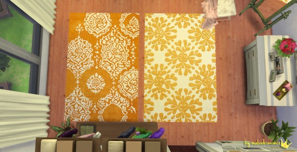 In a bad romance: Rugs and Paints