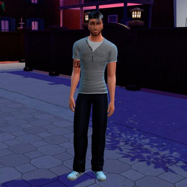 Sims Creativ: Luke by HelleN
