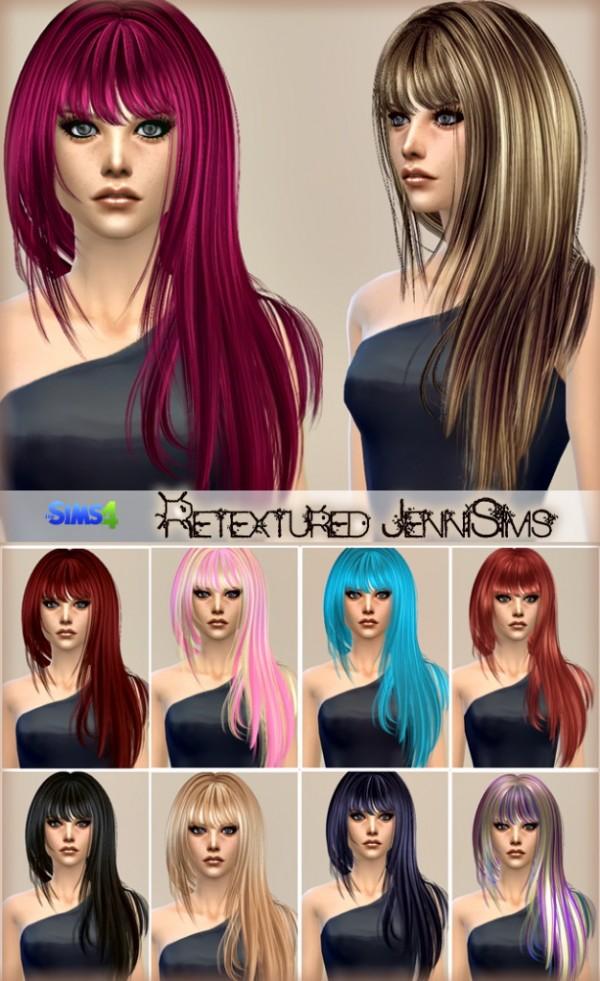 Jenni Sims: Elasims, Peggy, Simista,Hair Converted Retexture