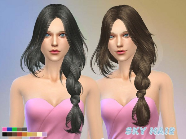 The Sims Resource: Hair 250 po by Skysims