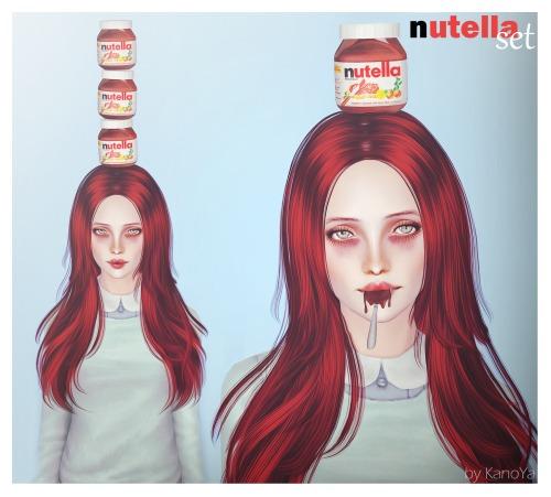 KanoYa Sims: Nutella set