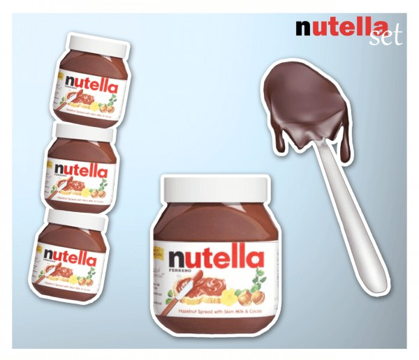 Kanoya Sims Nutella Set