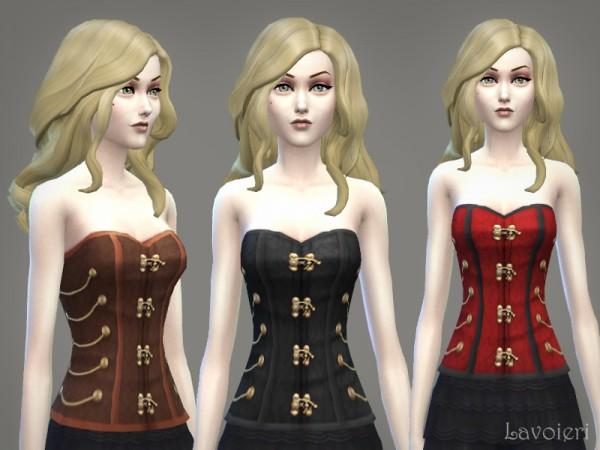 Lavoieri Sims: Steampunk Corset