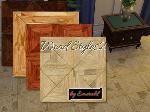 The Sims Resource: Wood styles2