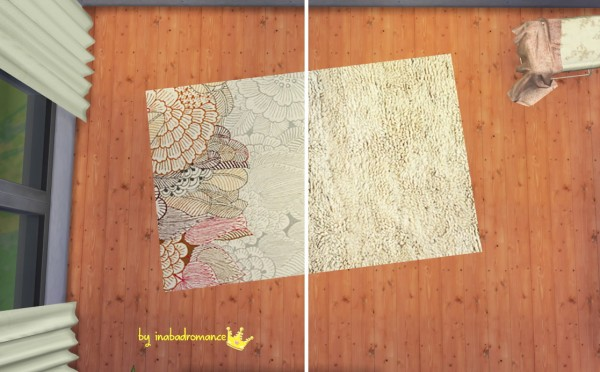 In A Bad Romance 3 Beddings 4 Frames Designs 8 Rugs