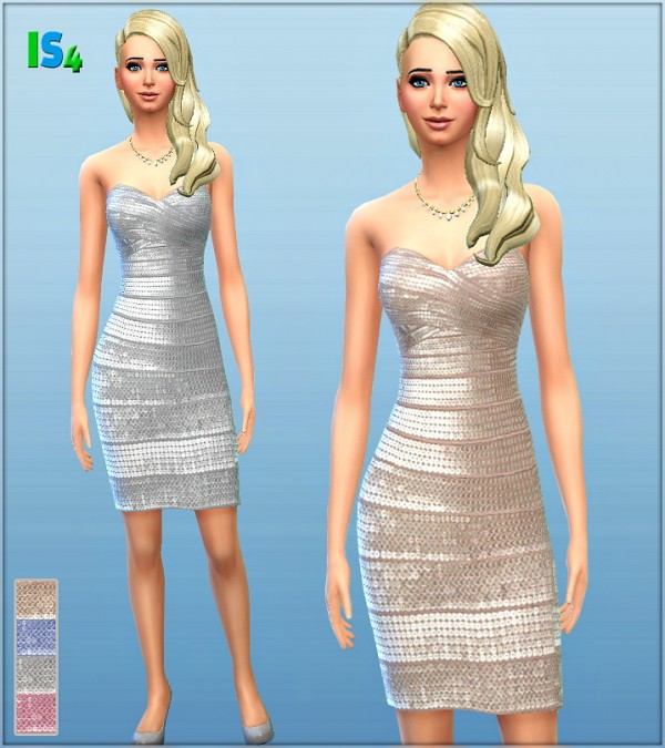 Irida Sims 4: Dress 10 I