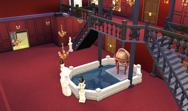 Mod The Sims Scarface Mansion By Sim4fun Sims 4 Downloads