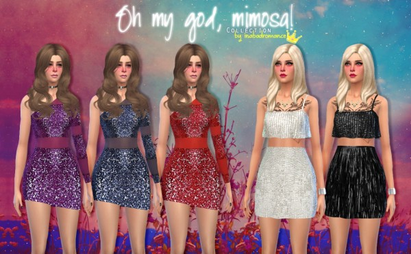 In a bad romance: Oh my god, Mimosa collection