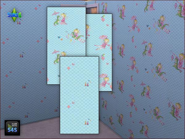 Arte Della Vita: 4 wall sets for girls
