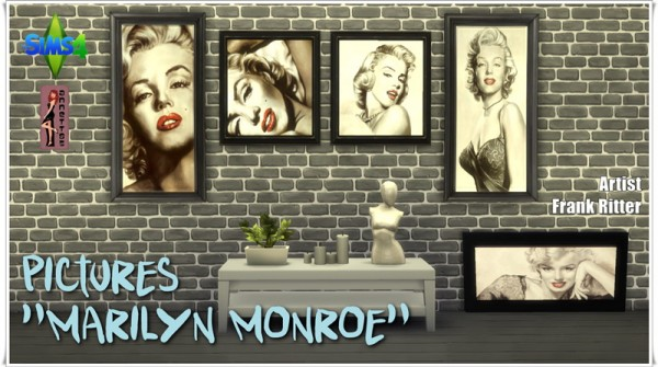 Annett S Sims 4 Welt Pictures Quot Marilyn Monroe Quot Sims 4