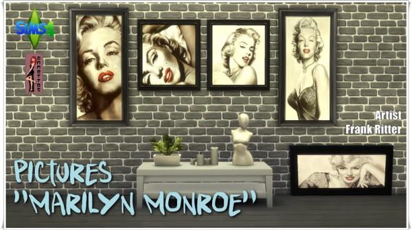 Annett`s Sims 4 Welt: Pictures Marilyn Monroe