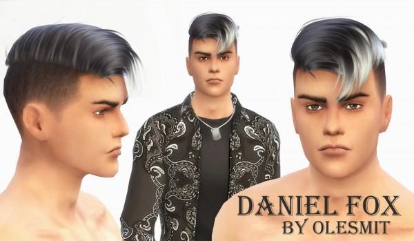 OleSims: Daniel Fox male model