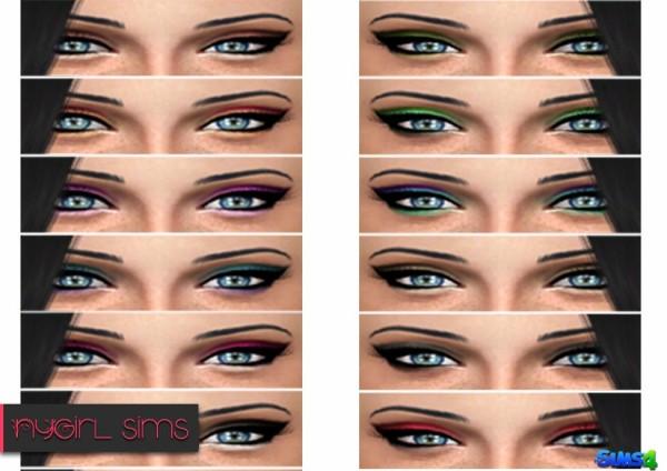 NY Girl Sims: Eye Shadow N01