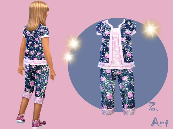 The Sims Resource: Girlies Best Outfit by Zuckerschnute20